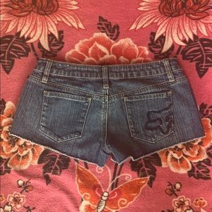 Fox Shorts - FOX Denim Shorts size 0